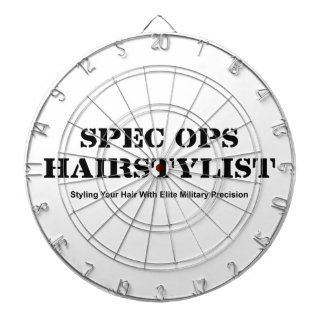 Spec Ops Hair Stylist Dartboard