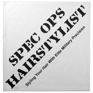 Spec Ops Hair Stylist Napkin