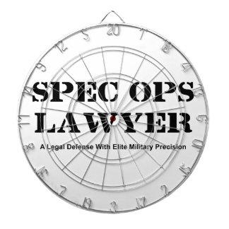 Spec Ops Lawyer - Defense Dartboard