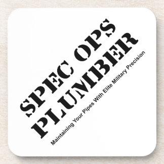 Spec Ops Plumber Beverage Coaster