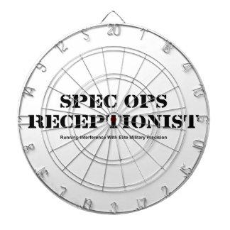 Spec Ops Receptionist Dartboard