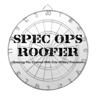 Spec Ops Roofer Dartboard