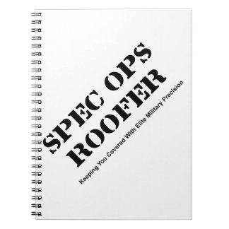 Spec Ops Roofer Notebooks