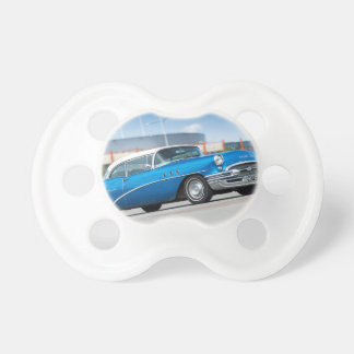Special 1955 Old Car Blue Classic Vintage Pacifier