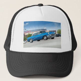 Special 1955 Old Car Blue Classic Vintage Trucker Hat