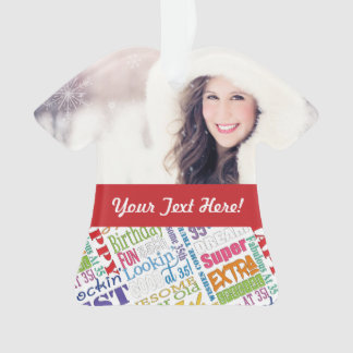 Special 35th Birthday Party Personalized Gifts Ornament