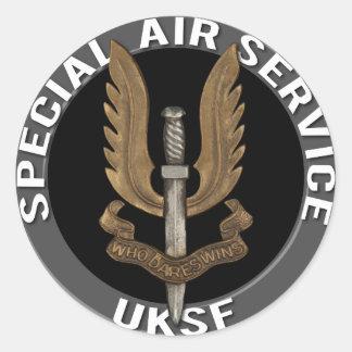 Special Air Service (SAS) Classic Round Sticker