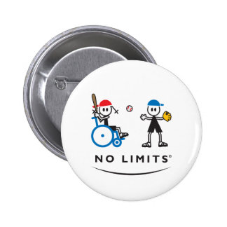 Special Batting Girl 2 Inch Round Button