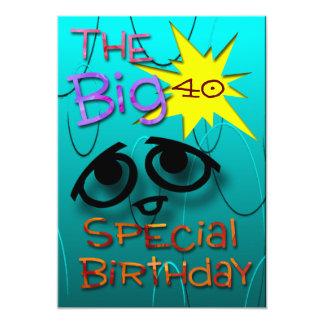 "Special Birthday 5"" X 7"" Invitation Card"