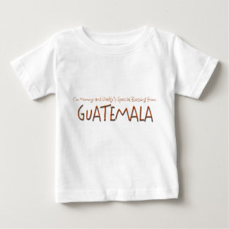 Special Blessing from Guatemala Baby T-Shirt