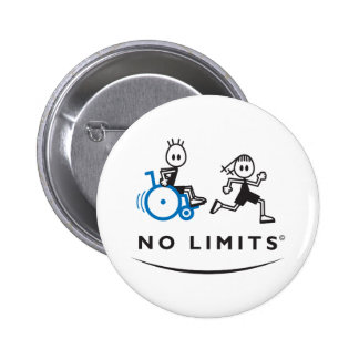 Special Boy with Running Girl 2 Inch Round Button