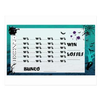 Special Bunco Post Card Invites