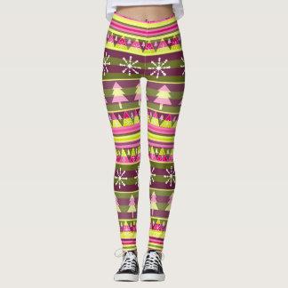 Special Christmas pattern Leggings