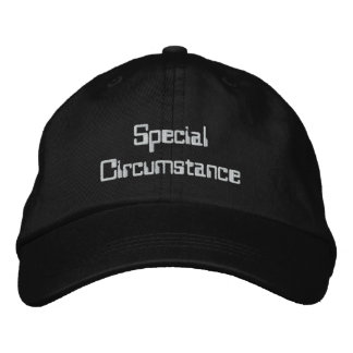 Special Circumstance Hat Baseball Cap