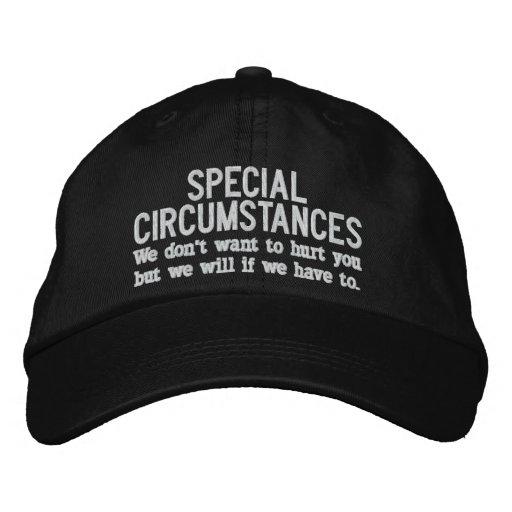 Special Circumstances Hat Baseball Cap