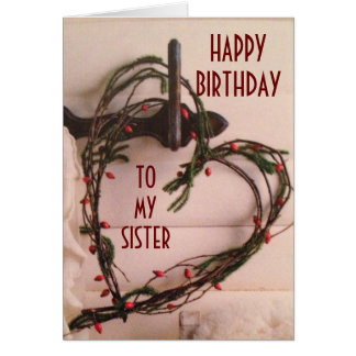 SPECIAL DAY LIKE YOU ON YOUR BIRTHDAY SISTER CARD