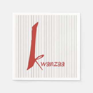 Special Days Kwanzaa Party Paper Napkins