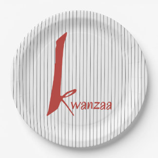 Special Days Kwanzaa Party Paper Plates