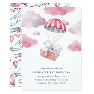 Special Delivery Birthday Party Invitation