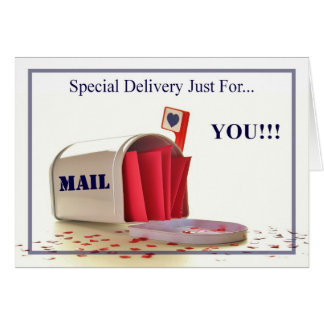 SPECIAL DELIVERY... CARD