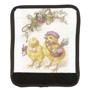 Special Delivery Easter Chicks Luggage Handle Wrap