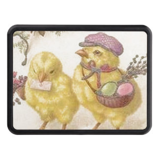 Special Delivery Easter Chicks Trailer Hitch Cover