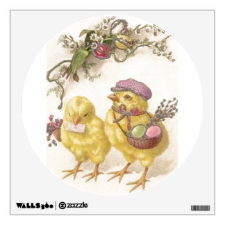 Special Delivery Easter Chicks Wall Decal