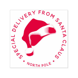 Special Delivery From Santa Claus Christmas Self-inking Stamp