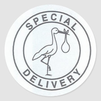 Special Delivery Sticker