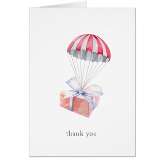 Special Delivery Thank You Notecards Card