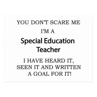 Special Ed. Teacher Postcard