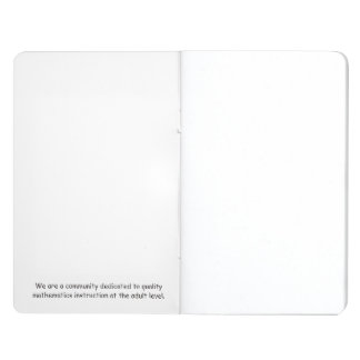 Special Edition ANN Pocket Journal
