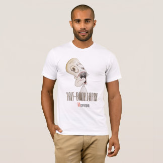 """Special Edition """"Half-Body Larry"""" White T-Shirt"""
