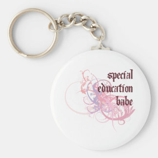 Special Education Babe Keychain
