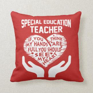 Special Education Teacher Throw Pillow