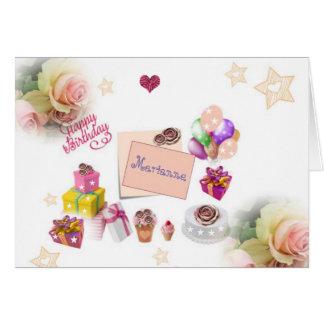 Special Festive Happy Birthday Card