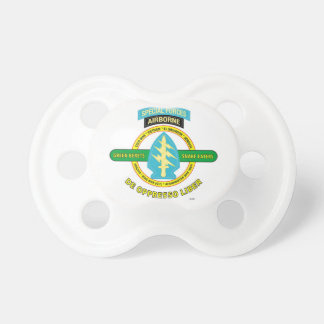 SPECIAL FORCES AIRBORNE PRODUCTS BABY PACIFIER
