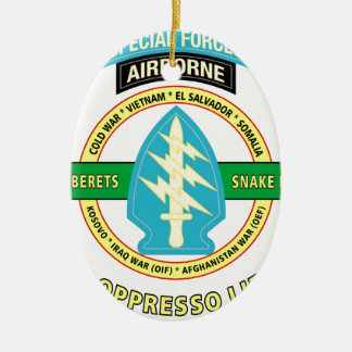 SPECIAL FORCES AIRBORNE PRODUCTS CERAMIC ORNAMENT