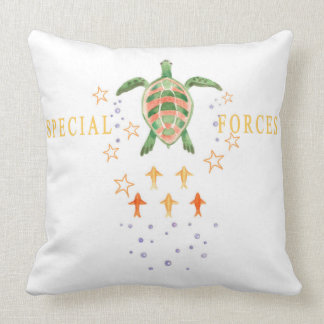 """""""Special Forces"""" Cotton Throw Pillow 20""""x20"""""""