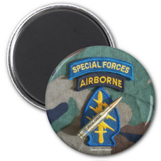 Special Forces Green Berets fridge bullet Magnet