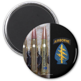 special forces green berets group vietnam Magnet