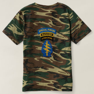 Special Forces Green Berets LRRPS Patch T-shirt