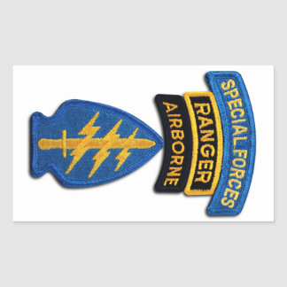 Special Forces green Berets SF SFG SOF Veterans Sticker