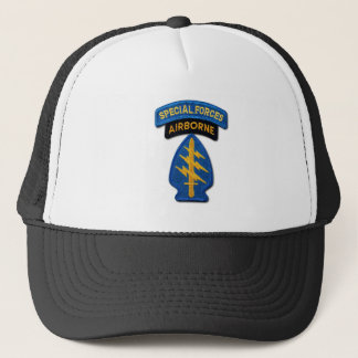 Special Forces Green Berets SF SOF veterans Trucker Hat