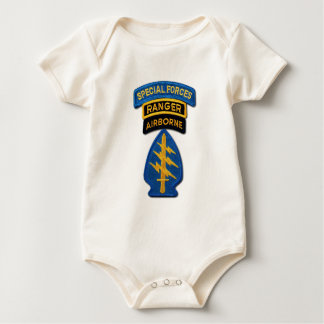 Special Forces Group Green Berets SF SOF SFG SOC Baby Bodysuit