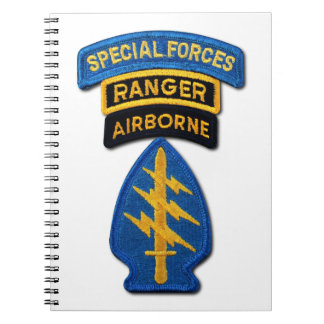 Special Forces Group Green Berets SF SOF SFG SOC Notebook
