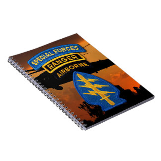 Special Forces Group Green Berets SF SOF SFG SOC Spiral Notebook