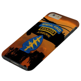 Special Forces Group Green Berets SF SOF SFG SOC Tough iPhone 6 Plus Case