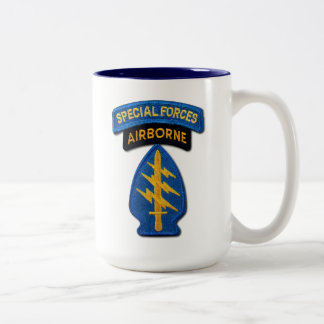 Special Forces Groups Green Berets SF SFG Two-Tone Coffee Mug