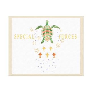"""Special Forces"" Nursery Art Canvas"